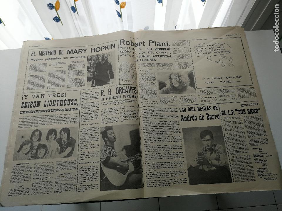Revistas de música: REVISTA ' DISCO EXPRES ' Nº 59 - FEBRERO 1970 //PORTADA ' LOS ANGELES ' - Foto 2 - 124296171