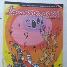 Revistas de música: LINACERO EXPRESS 27 SONDA 1999 LOS SECRETOS SUPERYO GENESIS ALAN PARSONS METALLICA LESS. Lote 124514663