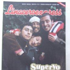 Revistas de música: LINACERO EXPRESS 28 SUPERYO SANTANA HEROES DEL SILENCIO CAT STEVENS . Lote 124514763