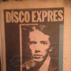 Revistas de música: DISCO EXPRES 494 (ENE 79):PAU RIBA;LOU REED, DOLORS PALAU, RUTLES,DIRE STRAITS, DR.CHAMPU,. Lote 222360275