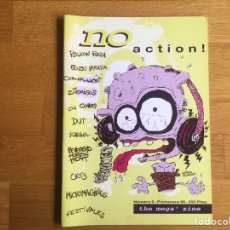 Revistas de música: NO ACTION! N 0: LOS ENEMIGOS, DUT, LOS COVERS, PSILICON FLESH, CORNFLAKES.... Lote 124597536