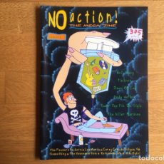 Revistas de música: NO ACTION! N 1: PLEASURE FUCKERS, EXTREMAUNCIÓN, NEIL YOUNG, PIOLINES, DOWN BY LAW, ANDY WARHOL.... Lote 124598034