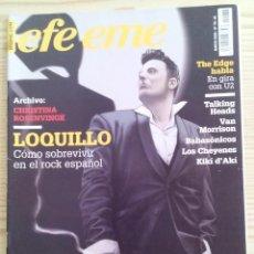 Revistas de música: REVISTA MUSICA EFE EME - NUMERO 76 - LOQUILLO. Lote 126174199