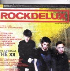 Revistas de música: ROCKDELUX N. 308 JULIO/AGOSTO 2012. Lote 126217399