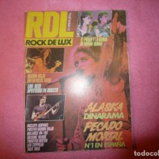 Revistas de música: ROCK DE LUX ROCKDELUX Nº 3 1985 ALASKA & DINARAMA DURAN DURAN / POSTER BARON ROJO R. Lote 126353099