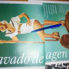 Revistas de música: RECORTE PRENSA : CHRISTINA AGUILERA, LAVADO DE IMAGEN . ROLLING STONE, NOVMBRE 2006. Lote 126801107