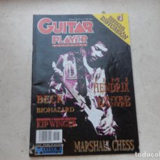 Revistas de música: GUITAR PLAYER Nº 62 1997 JIMMY HENDRIX KIP WINGER MARSHALL CHESS . Lote 127599319