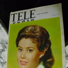 Revistas de música: THE BEATLES: TELE RADIO JULIO DE 1965-BEATLES EN ESPAÑA-MUY BUEN ESTADO Y RARA DE VER. Lote 127651051