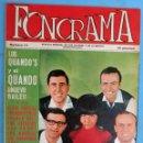Revistas de música: REVISTA FONORAMA , Nº 14 , ELVIS PRESLEY , MUSTANG, HURACANES, BRINCOS ... ,ORIGINAL. Lote 127858155