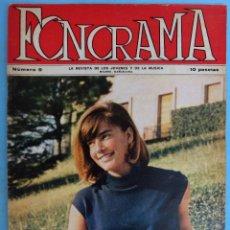 Revistas de música: REVISTA FONORAMA , Nº 9 , SIREX, ROLLING STONES , AGAROS, FLAPS... ,ORIGINAL. Lote 147506173