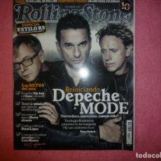 Revistas de música: MAGAZINE ROLLING STONE 114 DEPECHE MODE PET SHOP BOYS MO WARD R. Lote 128071835