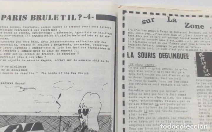 Revistas de música: ON EST PAS DES SAUVAGES! FANZINE ORIGINAL Nº 16 BOURDEAUX ORCHESTRE ROUGE LA SOURIS DEGLINGUEE, - Foto 4 - 128386223