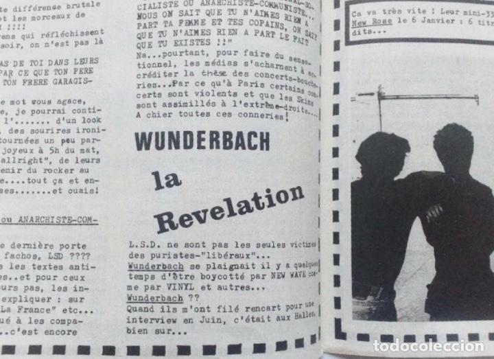 Revistas de música: ON EST PAS DES SAUVAGES! FANZINE ORIGINAL Nº 16 BOURDEAUX ORCHESTRE ROUGE LA SOURIS DEGLINGUEE, - Foto 5 - 128386223