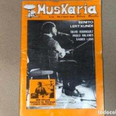 Revistas de música: MUSKARIA N° 8 (ESPECIAL 1981) BOB DYLAN ( AMPLIO REPORTAJE), THE CLASH, DEAD KENNEDYS, ROCKABILLY,... Lote 128492175