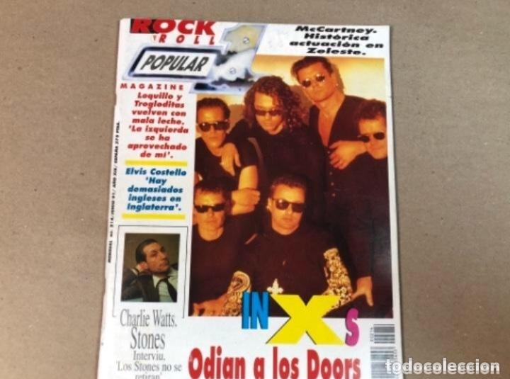 REVISTA POPULAR 1 N°214 JUN 1991 - LOQUILLO Y LOS TROGLODITAS, PIXIES, JEFF BECK, KLF, ... (Música - Revistas, Manuales y Cursos)