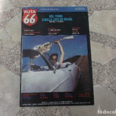 Revistas de música: RUTA 66 Nº 18,NEIL YOUNG,BEATLES VERSUS ROLLING STONES,MARTIN SCORSESE. Lote 194680480