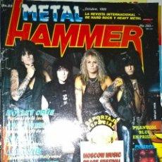 Revistas de música: METAL HAMMER OCTUBRE 1989 Nº 23+POSTER VICTORY. Lote 128687483
