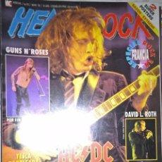 Revistas de música: HEAVY ROCK MAYO 1992 Nº 93 - BUEN ESTADO CON POSTER DE SAXON Y EXTREME. Lote 128687839