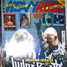 Revistas de música: HEAVY ROCK MAYO 2005 Nº 261 SIN POSTER . Lote 128687935