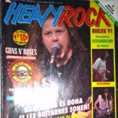 Revistas de música: HEAVY ROCK OCTUBRE 1991 Nº 98 BUEN ESTADO SIN POSTER . Lote 128688019