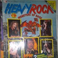 Revistas de música: HEAVY ROCK SEPTIEMBRE 1991 Nº 97 SIN POSTER . Lote 128688131