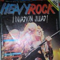 Revistas de música: HEAVY ROCK ABRIL 1988 Nº 56 SIN POSTER. Lote 128688215
