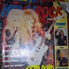 Revistas de música: HEAVY ROCK MARZO 1989 Nº 89 ESTADO OPTIMO SIN POSTER . Lote 128688311