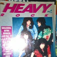 Revistas de música: HEAVY ROCK DICIEMBRE 1987 Nº 52 ESTADO OPTIMO SIN RECORTES PORTADA SEMI SUELTA . Lote 128688787