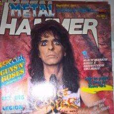 Revistas de música: METAL HAMMER SEPTIEMBRE 1989 Nº 22+POSTER DE SABBATH. Lote 128688835