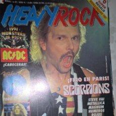 Revistas de música: HEAVY ROCK ENERO 1991 Nº 89 SIN POSTER . Lote 128689083