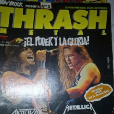 Revistas de música: THRASH METAL 1988 Nº 2 SIN POSTER . Lote 128689175