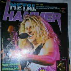 Revistas de música: METAL HAMMER JULIO 1989 Nº 8 BUEN ESTADO SIN RECORTES NO TIENE POSTER . Lote 128689435