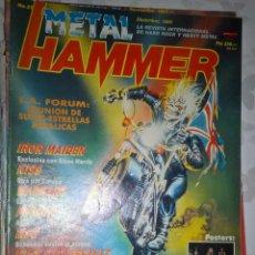 Revistas de música: METAL HAMMER DICIEMBRE 1989 Nº 25 SIN POSTER . Lote 128689519