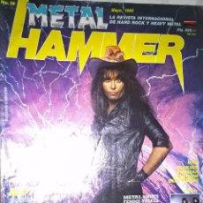 Revistas de música: METAL HAMMER MAYO 1989 Nº 18 SIN POSTER . Lote 128689563