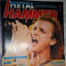 Revistas de música: ETAL HAMMER DICIEMBRE 1988 Nº 13 SIN POSTER . Lote 128689607