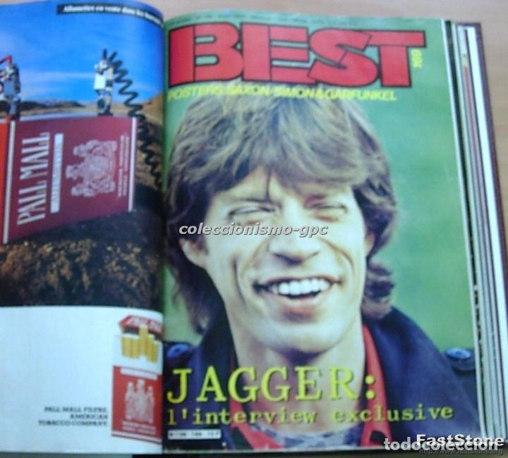 Revistas de música: Tomo Revista Música BEST 1982 Año Completo IRON MAIDEN ROLLING STONES SPRINGSTEEN AC/DC En Francés - Foto 6 - 129016579