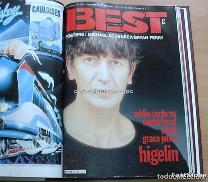 Revistas de música: Tomo Revista Música BEST 1982 Año Completo IRON MAIDEN ROLLING STONES SPRINGSTEEN AC/DC En Francés - Foto 9 - 129016579