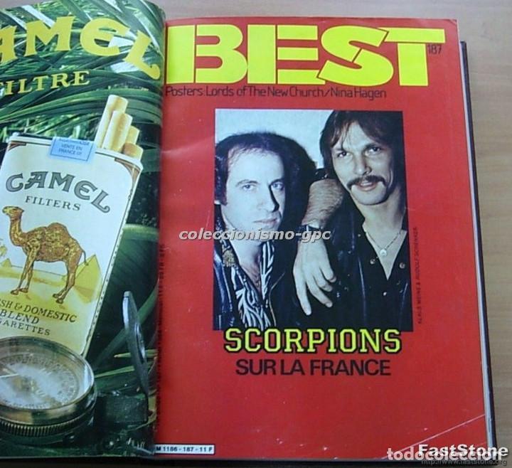 Revistas de música: Tomo Revista Música BEST 1984 Año Completo U2 SCORPIONS SPRINGSTEEN IRON MAIDEN STING En Francés Lee - Foto 2 - 129052907