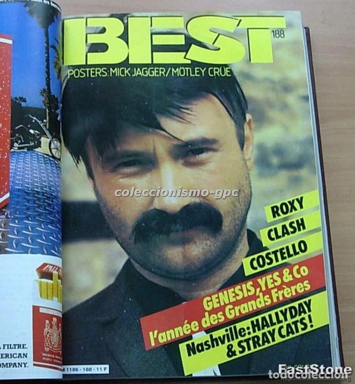 Revistas de música: Tomo Revista Música BEST 1984 Año Completo U2 SCORPIONS SPRINGSTEEN IRON MAIDEN STING En Francés Lee - Foto 3 - 129052907
