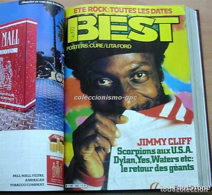 Revistas de música: Tomo Revista Música BEST 1984 Año Completo U2 SCORPIONS SPRINGSTEEN IRON MAIDEN STING En Francés Lee - Foto 4 - 129052907