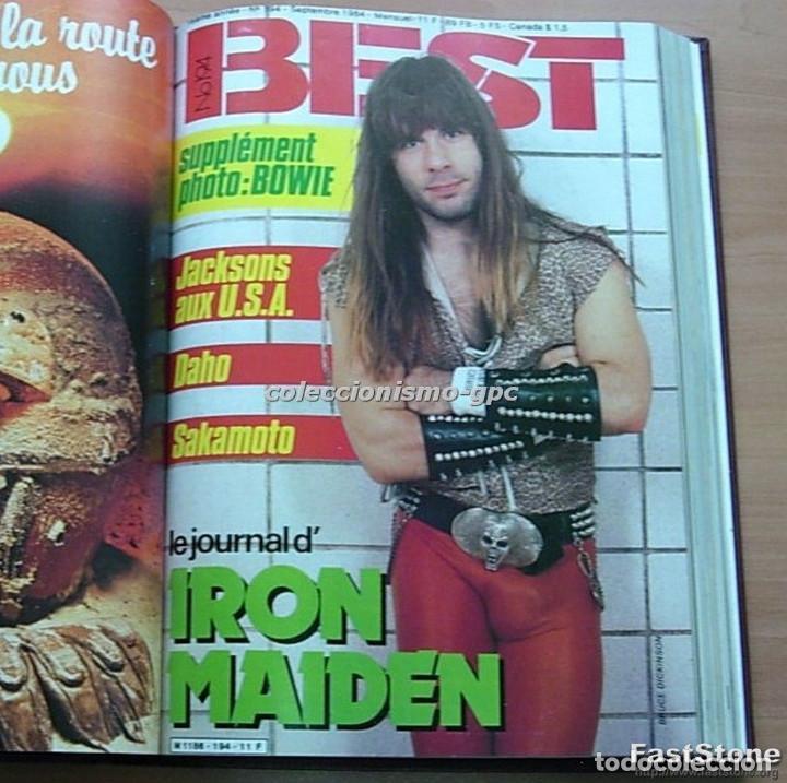 Revistas de música: Tomo Revista Música BEST 1984 Año Completo U2 SCORPIONS SPRINGSTEEN IRON MAIDEN STING En Francés Lee - Foto 7 - 129052907