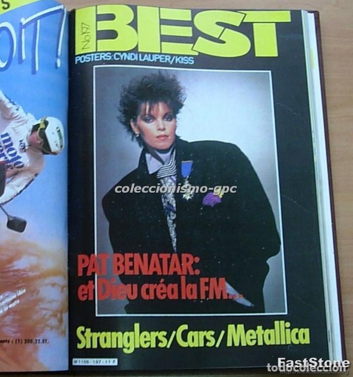 Revistas de música: Tomo Revista Música BEST 1984 Año Completo U2 SCORPIONS SPRINGSTEEN IRON MAIDEN STING En Francés Lee - Foto 9 - 129052907