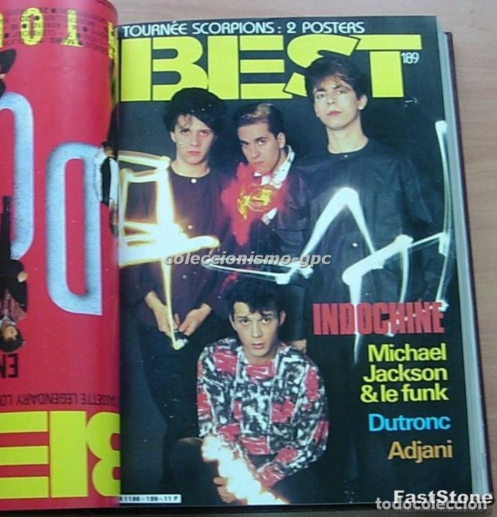 Revistas de música: Tomo Revista Música BEST 1984 Año Completo U2 SCORPIONS SPRINGSTEEN IRON MAIDEN STING En Francés Lee - Foto 10 - 129052907