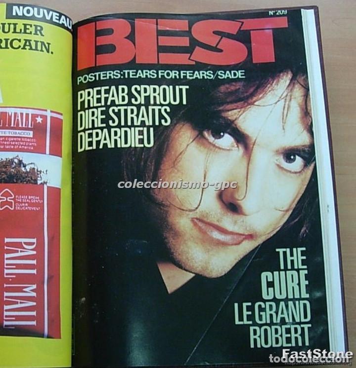 Revistas de música: Tomo Revista Música Rock BEST 1985 Año Completo SADE THE CURE SPRINGSTEEN ZZ TOP BRYAN FERRY PRINCE - Foto 2 - 129053779
