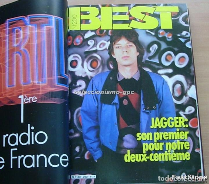 Revistas de música: Tomo Revista Música Rock BEST 1985 Año Completo SADE THE CURE SPRINGSTEEN ZZ TOP BRYAN FERRY PRINCE - Foto 3 - 129053779