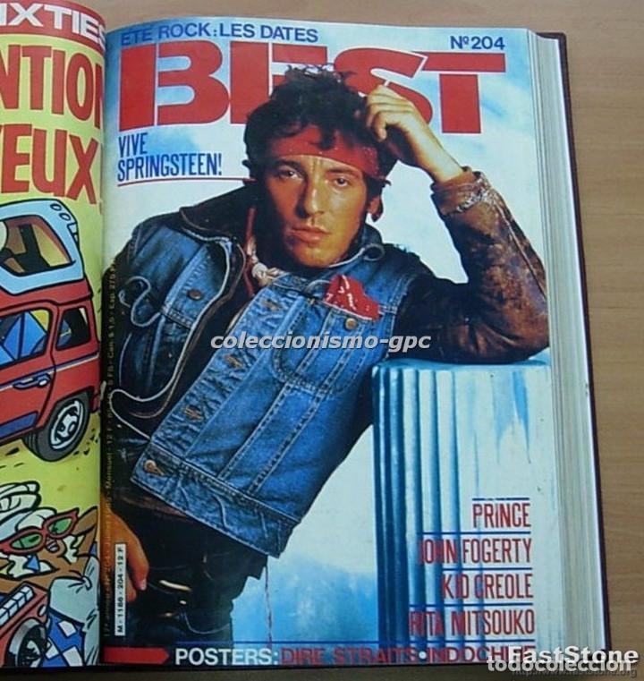 Revistas de música: Tomo Revista Música Rock BEST 1985 Año Completo SADE THE CURE SPRINGSTEEN ZZ TOP BRYAN FERRY PRINCE - Foto 5 - 129053779