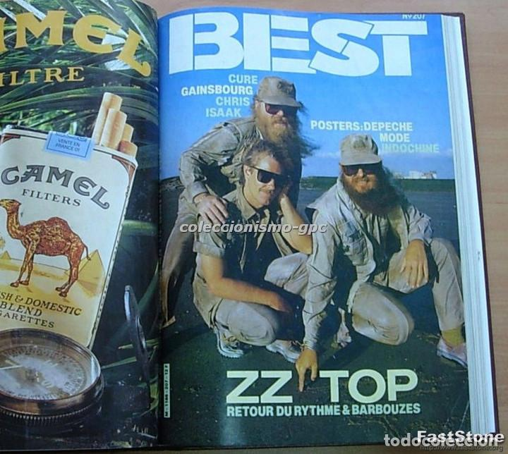 Revistas de música: Tomo Revista Música Rock BEST 1985 Año Completo SADE THE CURE SPRINGSTEEN ZZ TOP BRYAN FERRY PRINCE - Foto 8 - 129053779