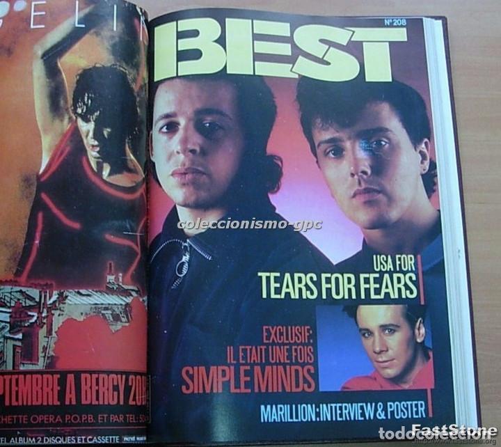 Revistas de música: Tomo Revista Música Rock BEST 1985 Año Completo SADE THE CURE SPRINGSTEEN ZZ TOP BRYAN FERRY PRINCE - Foto 9 - 129053779
