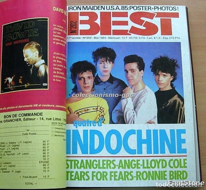 Revistas de música: Tomo Revista Música Rock BEST 1985 Año Completo SADE THE CURE SPRINGSTEEN ZZ TOP BRYAN FERRY PRINCE - Foto 11 - 129053779