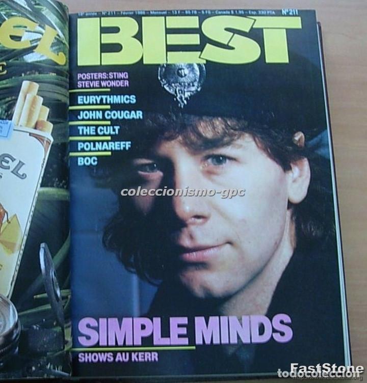 Revistas de música: Tomo Revista Música BEST 1986 Año Completo MADONNA STING BOWIE SADE THE CURE ZZ TOP DEPECHE MODE - Foto 3 - 129054719